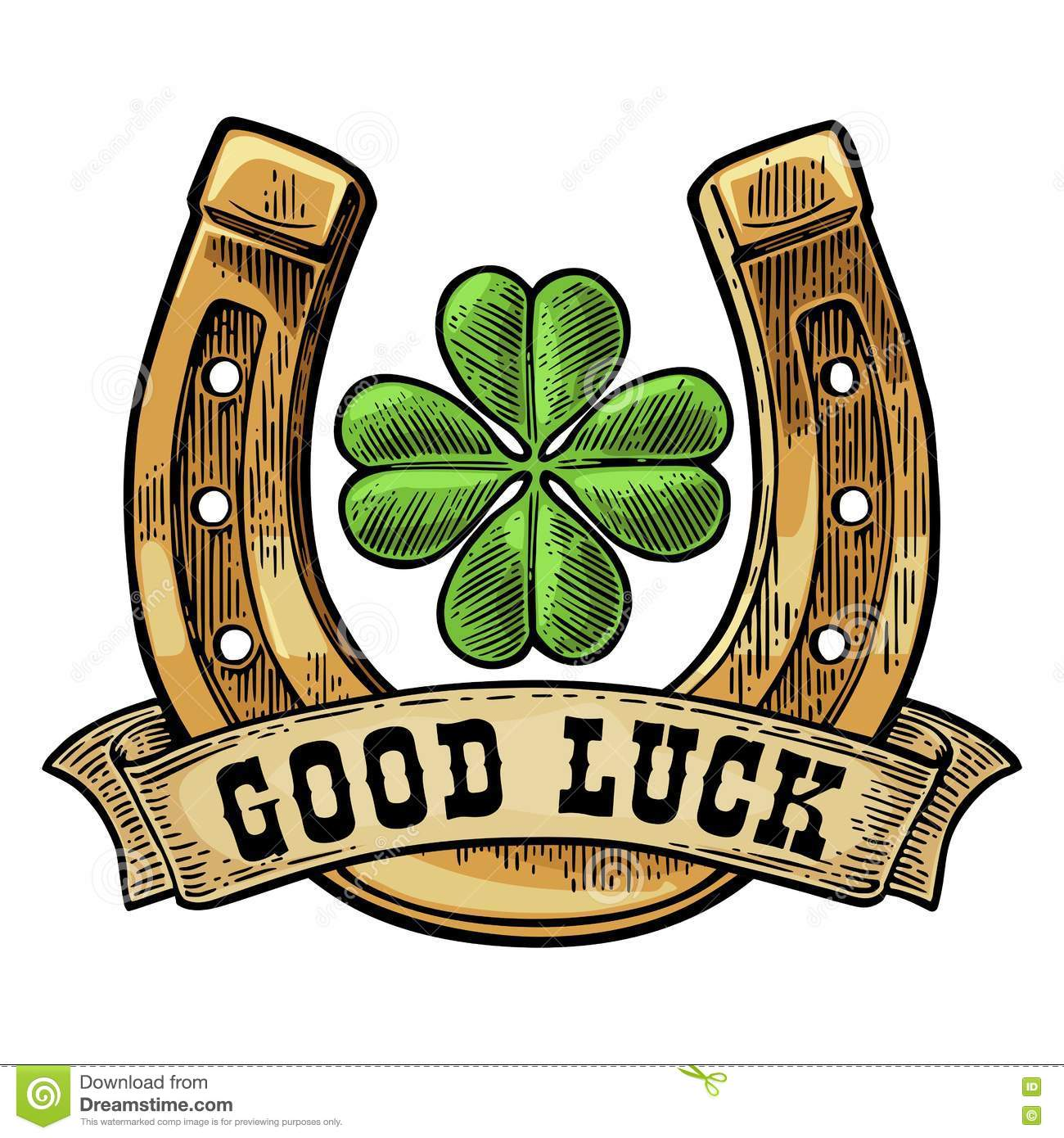 Good Luck Horseshoe Clipart Clipground