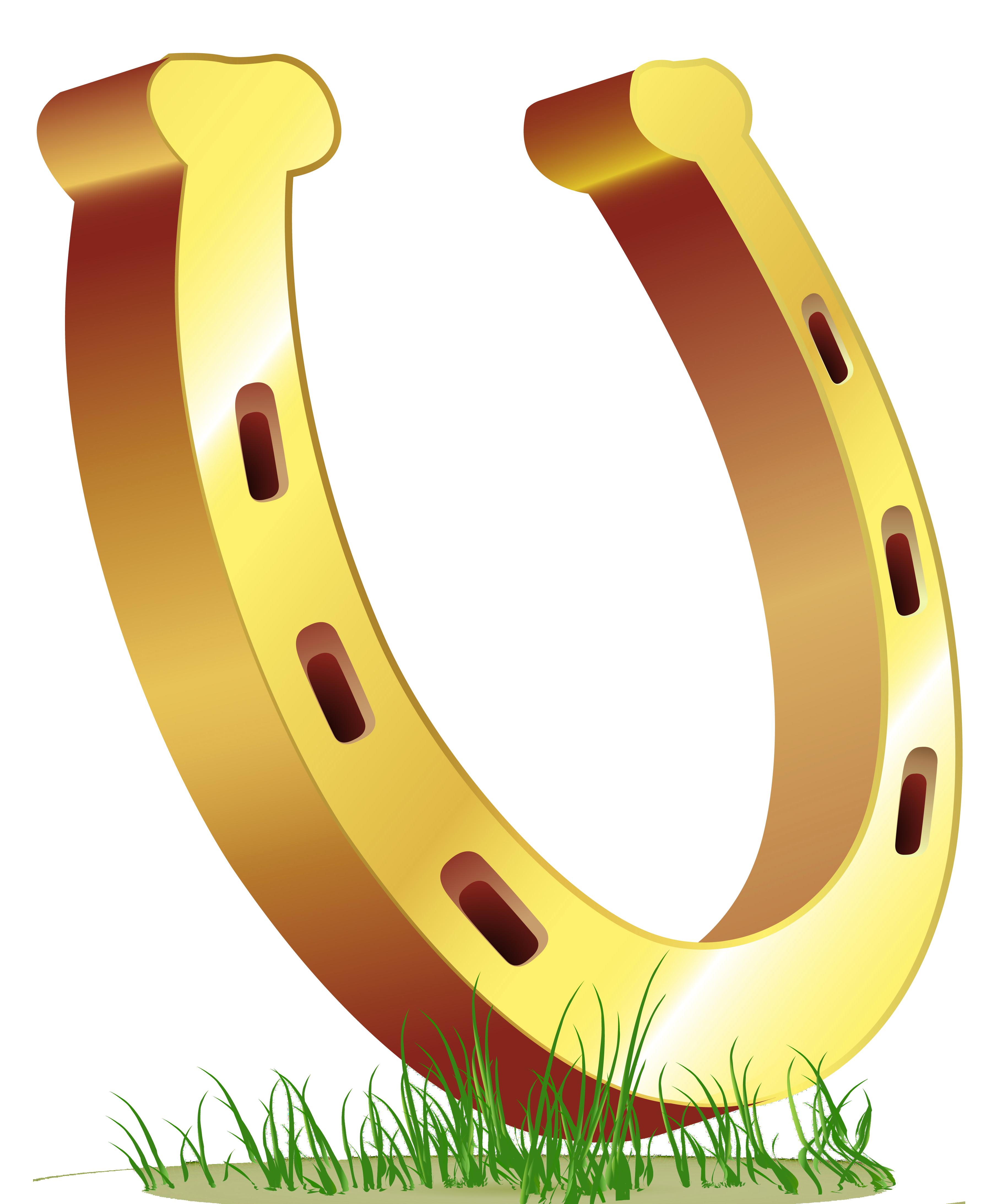 Horse shoe clip art.