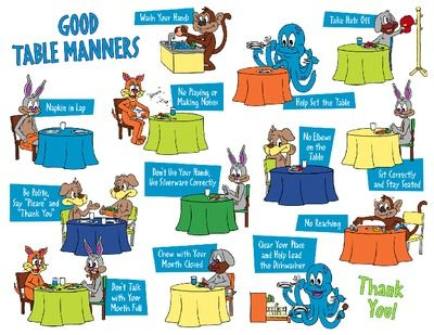 good manners for children clipart - Clipground