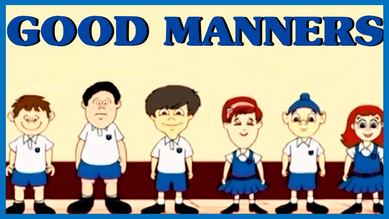 good manners for children clipart clipground learn good manners for kids