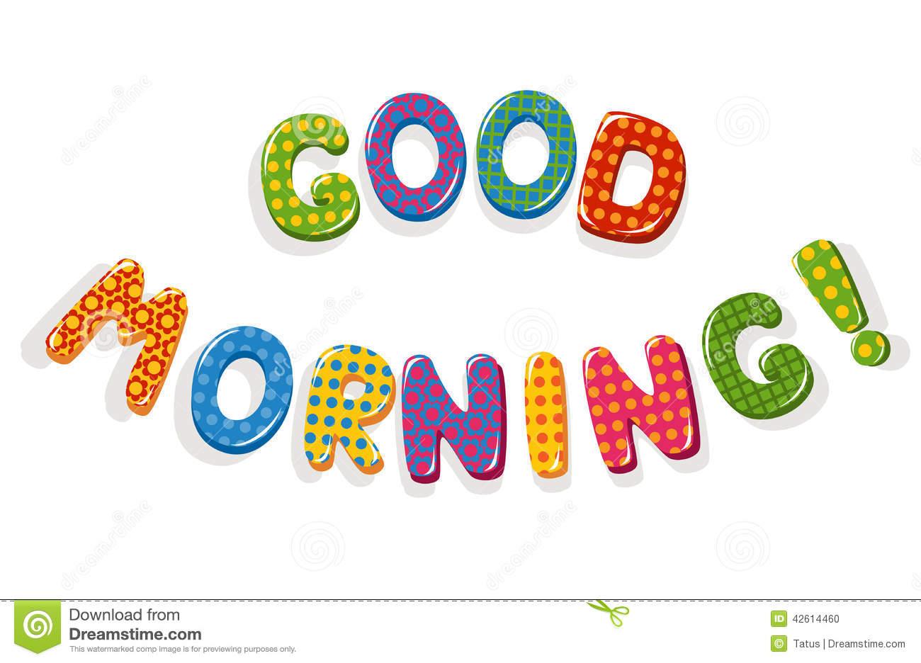Good Morning Clip Art & Good Morning Clip Art Clip Art Images.