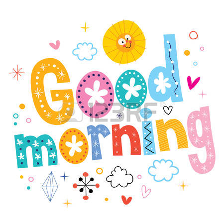 5,231 Good Morning Stock Vector Illustration And Royalty Free Good.