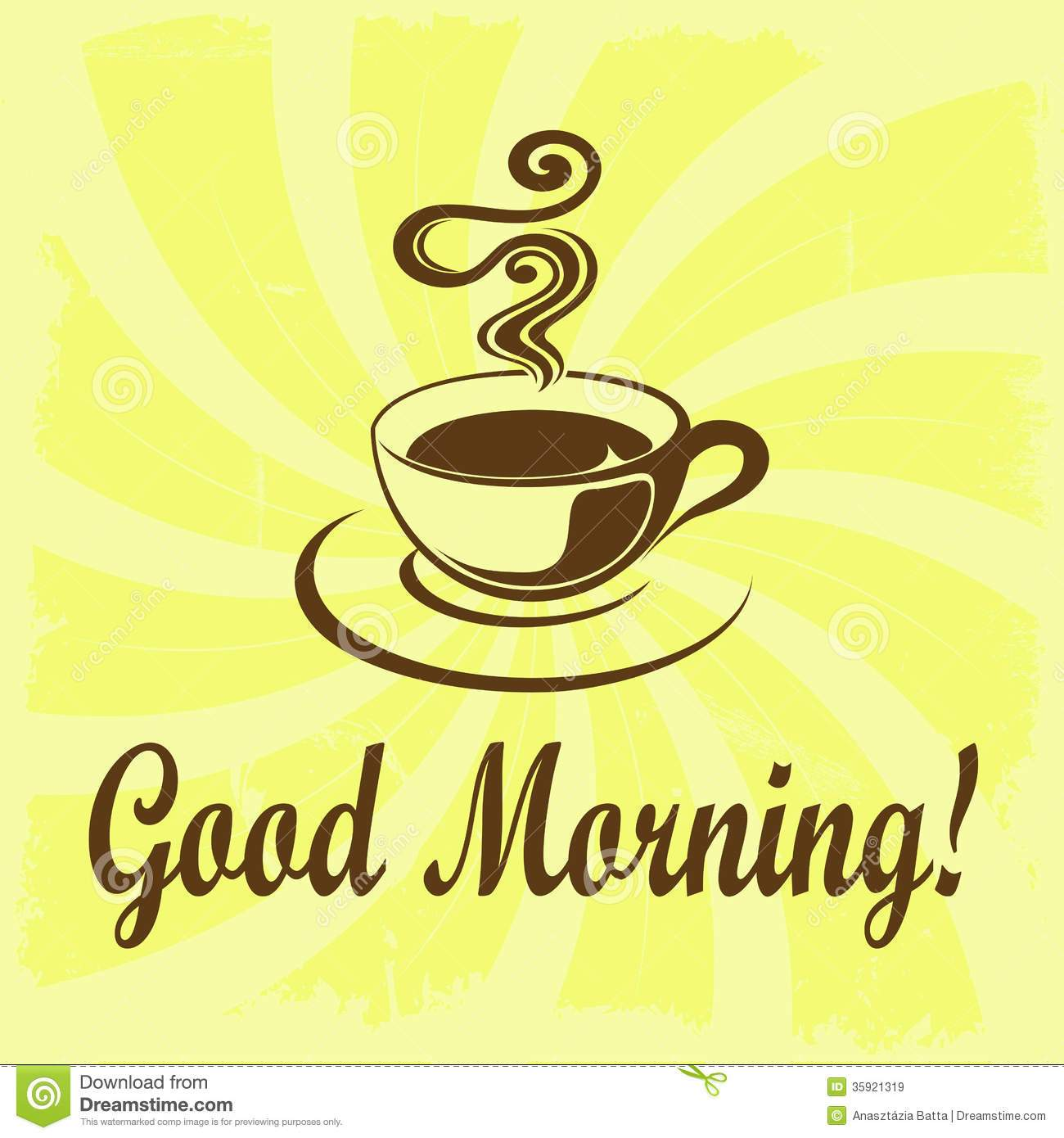 Good morning coffee clipart 4 » Clipart Portal.