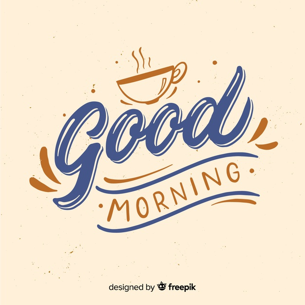 Good Morning Vectors, Photos and PSD files.
