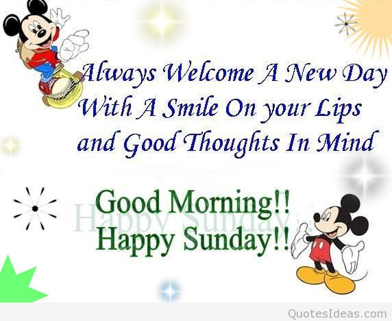 good morning sunday clipart #1