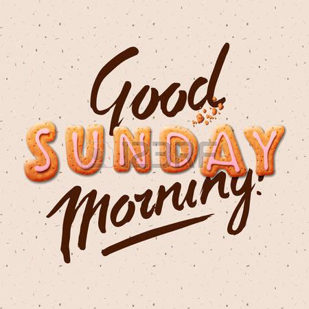 good morning sunday clipart #5