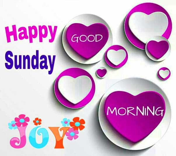Good Morning Sunday Clipart