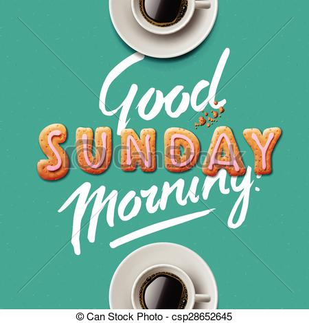 good morning sunday clipart #19