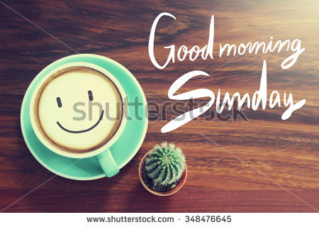 Good Morning Happy Sunday Clipart.