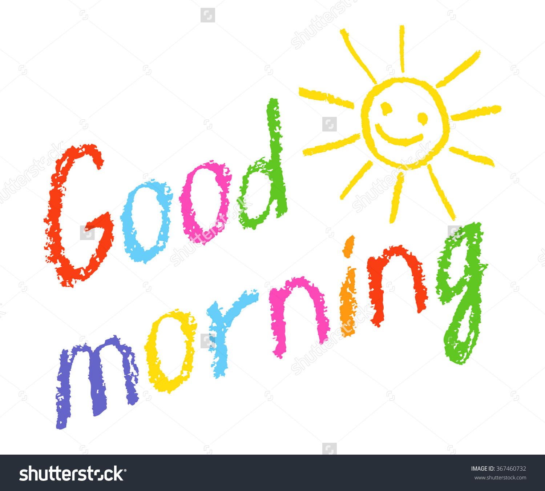 Good Morning Sunshine Clipart.