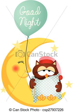 Good night Clip Art and Stock Illustrations. 6,911 Good night EPS.