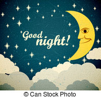 Good night Clip Art and Stock Illustrations. 6,911 Good night EPS.