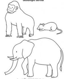 Goodnight Gorilla Lesson Plan Lapbook Printables.