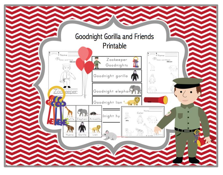 64 best images about Good night, gorilla on Pinterest.