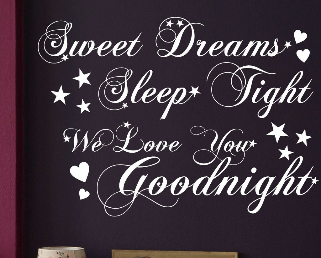 Good Night Clipart With Love Quotes.