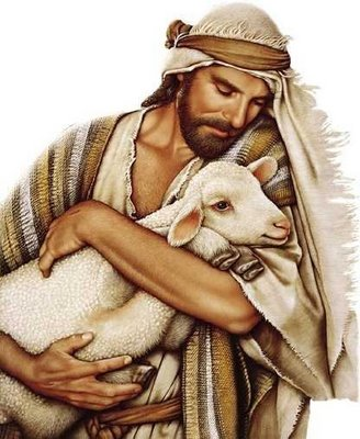 Jesus the good shepherd clipart images.