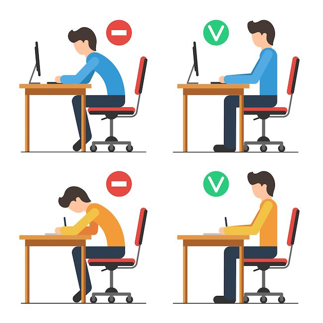 Download good sitting position clipart Sitting Clip art.