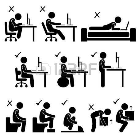 4,974 Sitting Standing Stock Vector Illustration And Royalty Free.