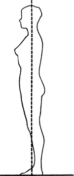 Good Body Posture Clip Art.