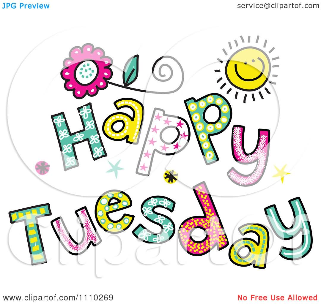 Good Tuesday Morning Clipart.