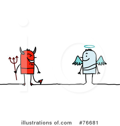 Good Vs Evil Clipart #435638.