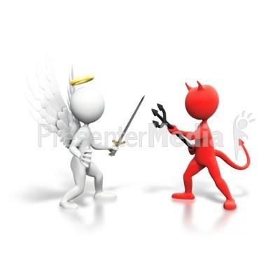 Good vs evil clipart 2 » Clipart Portal.