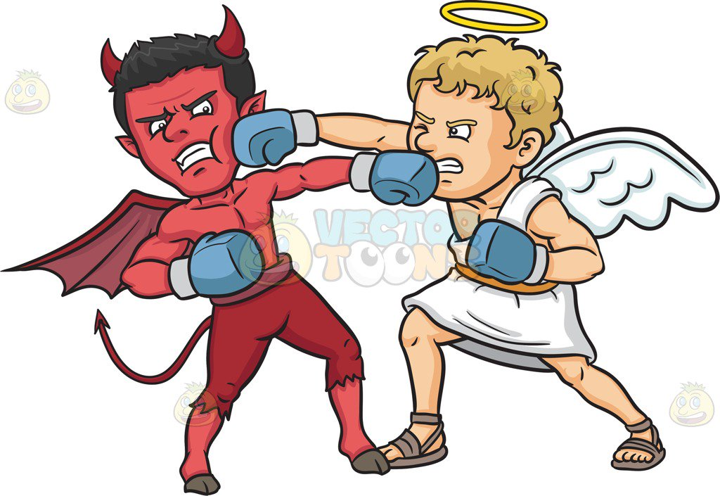 Good Vs Evil Clipart (100+ images in Collection) Page 1.
