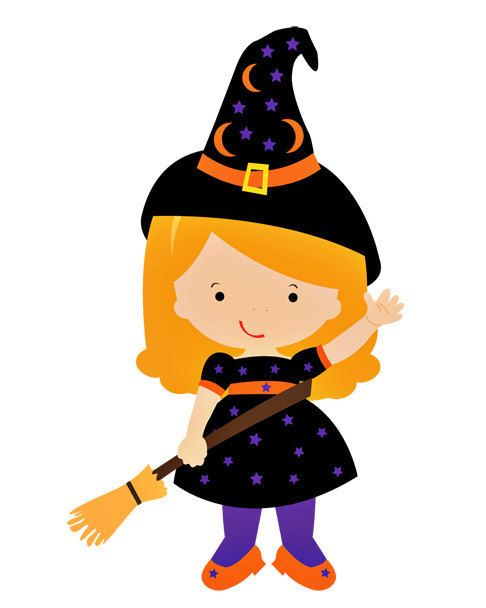 Little Halloween Witch Image, Baby, Child, Good Witch Image, Little.