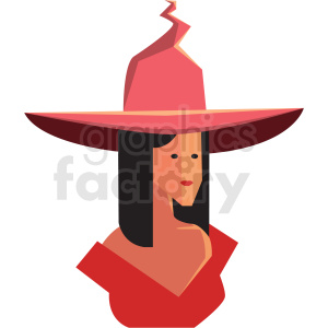 game good witch character vector icon clipart . Royalty.