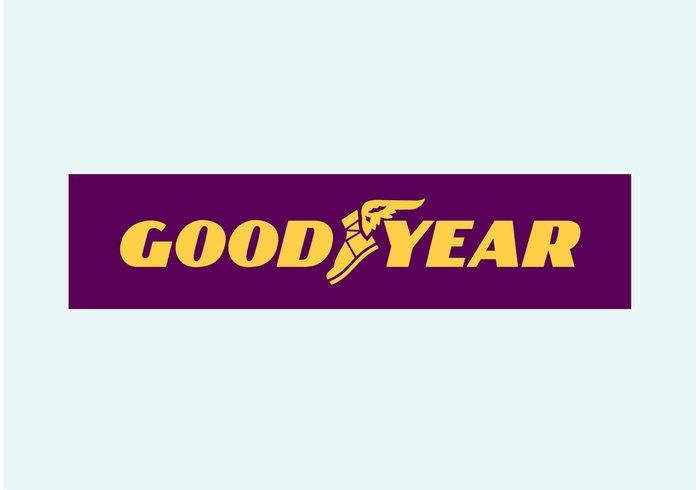 Goodyear Blimp Logo Clipart.