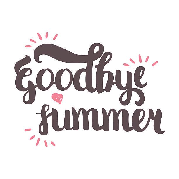 Best Goodbye Summer Illustrations, Royalty.