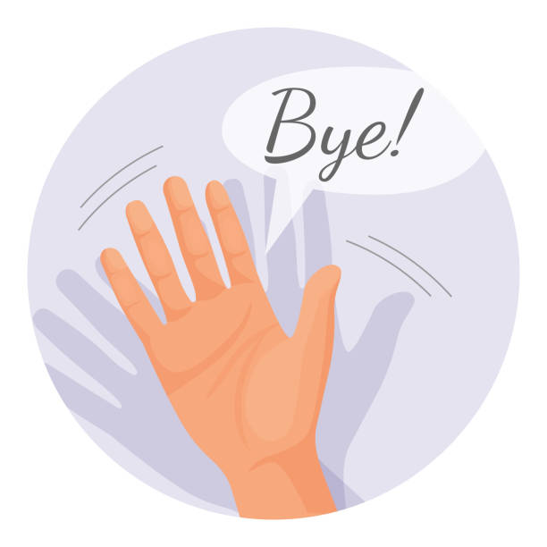 Wave goodbye clipart » Clipart Station.