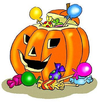 Halloween Goodies Clipart.