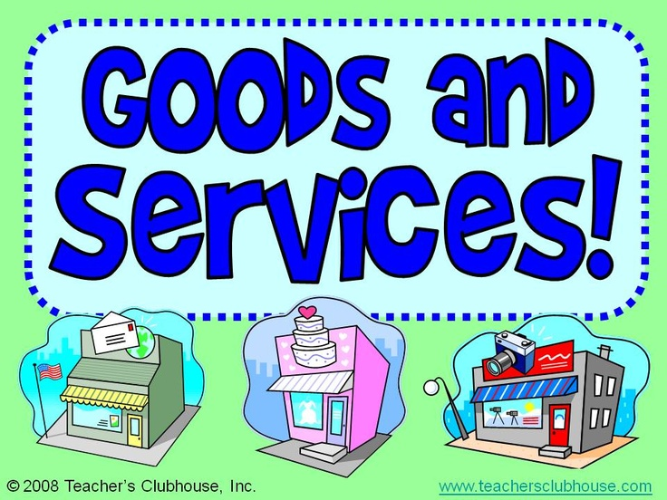 Goods and services clipart 5 » Clipart Station.