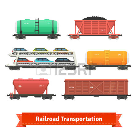 3,403 Goods Train Cliparts, Stock Vector And Royalty Free Goods.