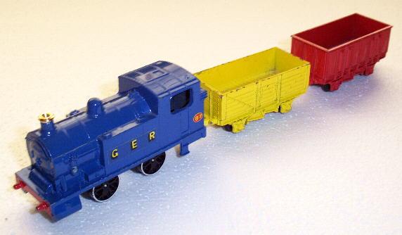 Goods train clipart.