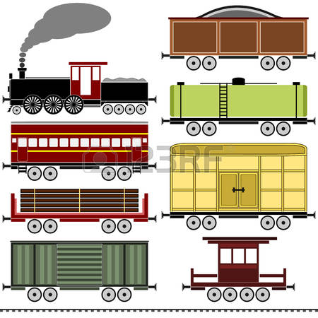 2,505 Goods Train Cliparts, Stock Vector And Royalty Free Goods.