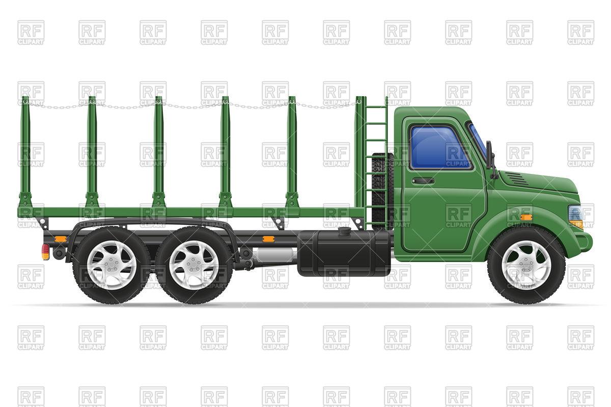 Cargo truck for transportation of goods.