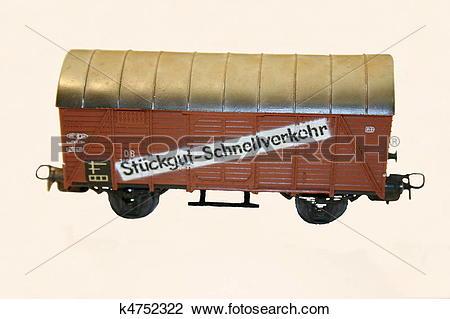 Stock Photo of Goods Wagon k4752322.
