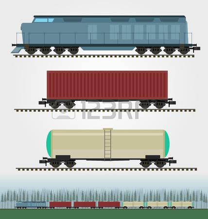 949 A Goods Wagon Stock Vector Illustration And Royalty Free A.