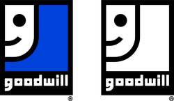 Goodwill™ logo vector.