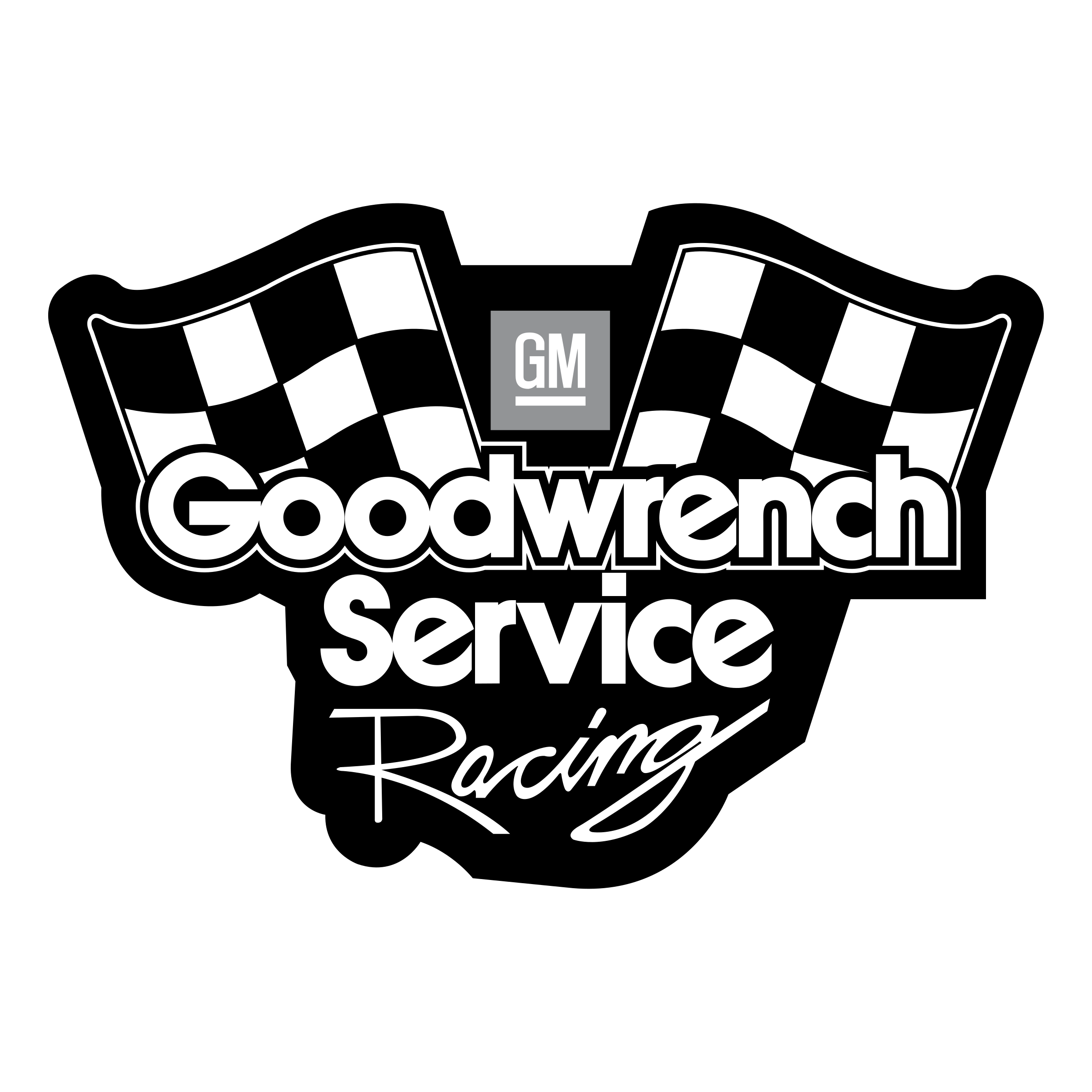 Goodwrench Service Racing Logo PNG Transparent & SVG Vector.