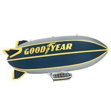 Inflatable Goodyear Blimp.