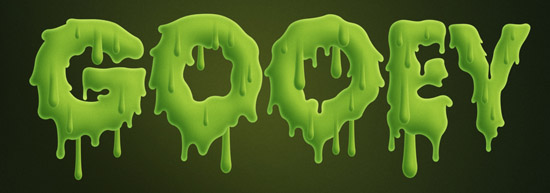 Slimy Substance  Letters