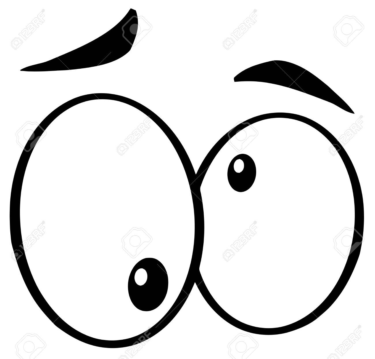 Goofy eyes clipart 1 » Clipart Portal.