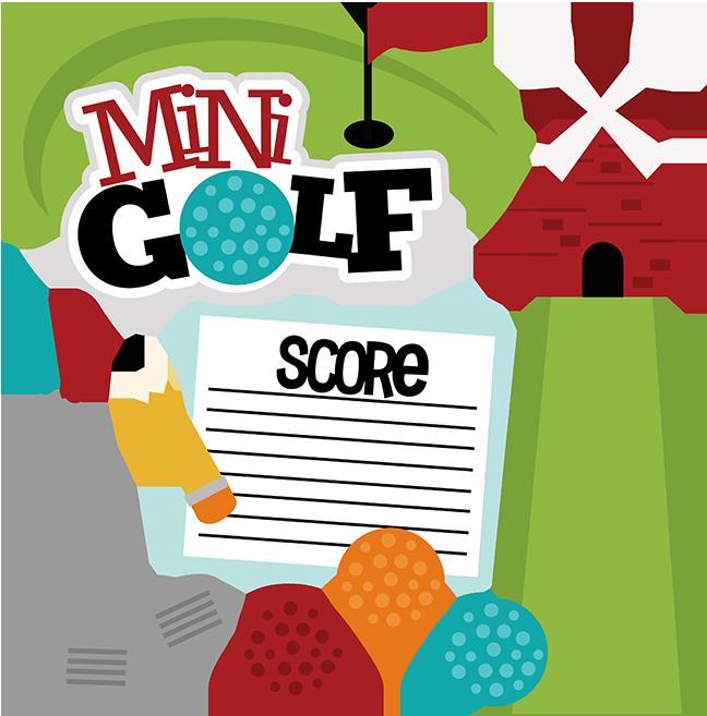 Goofy Golf Clipart Windmill Mini Large.
