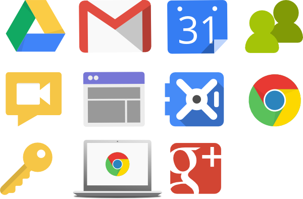 Web Design with Google Sites: Free Google Apps Icon Pack.