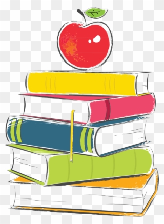 Stack of books book clipart pinclipart png.