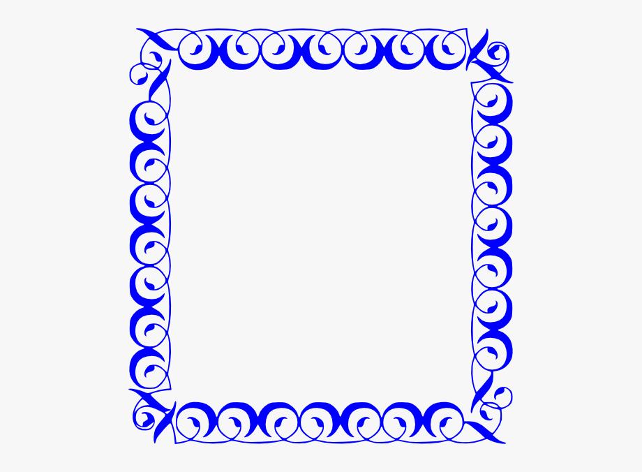 Number Borders Clip Art.