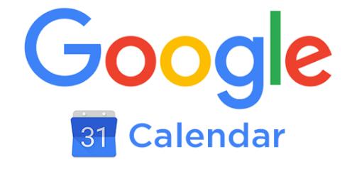 Google Calendar (online calendar).